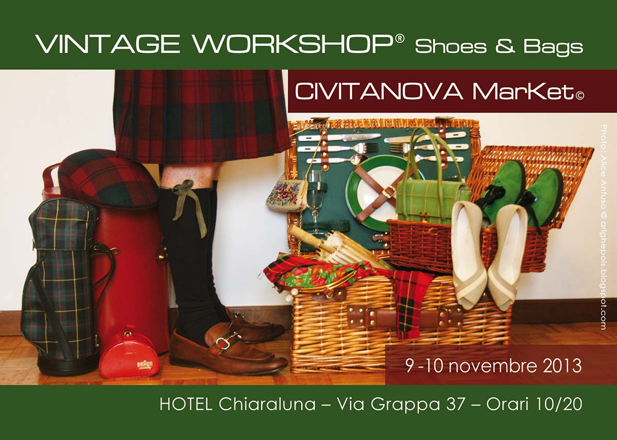 Evento Vintage Workshop Civitanova 9 e 10 novembre 2013